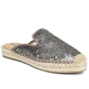 Sam Edelman Kerry Espadrille Mules with Sequins 8